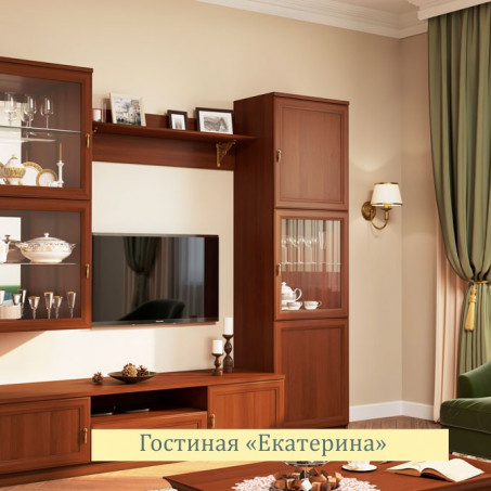 Комплект для гостиной Ekaterina орех