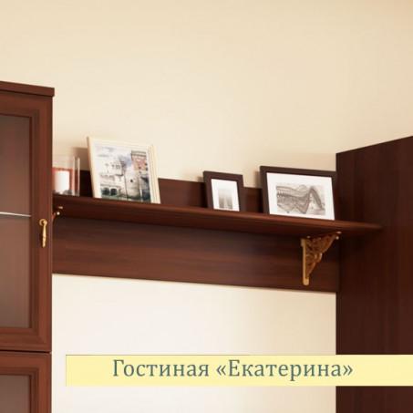 Полка навесная Екатерина орех еп6001