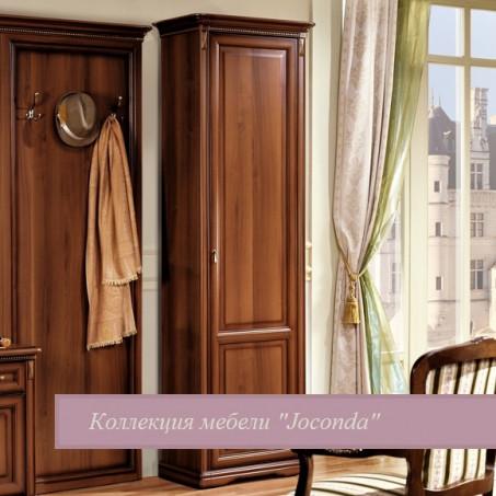 Шкаф однодверный правый для прихожей орех