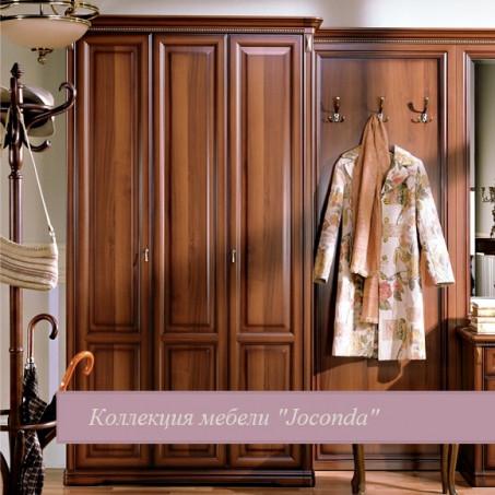 Шкаф трёхдверный для прихожей орех