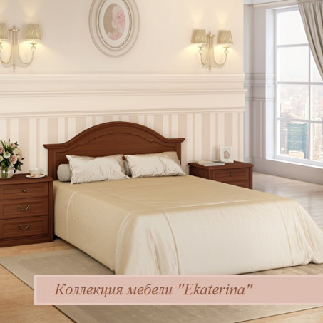 Кровать без ножной спинки орех 1400х2000 цвет орех