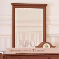 Зеркало в раме к комоду Ekaterina орех