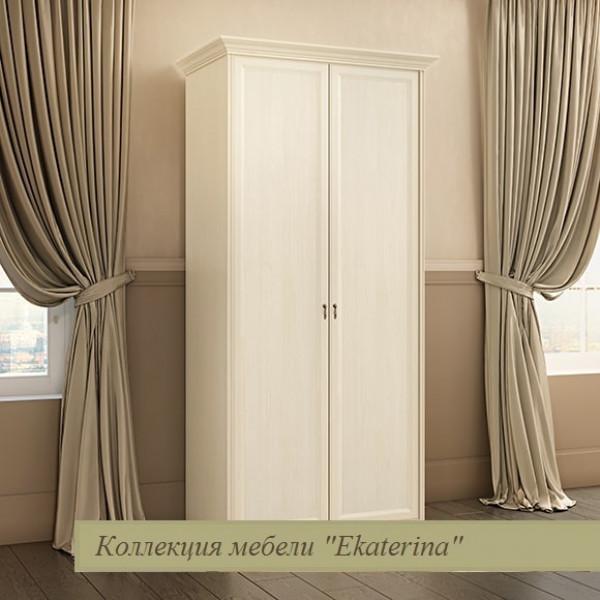 Шкаф 2-х дверный крем