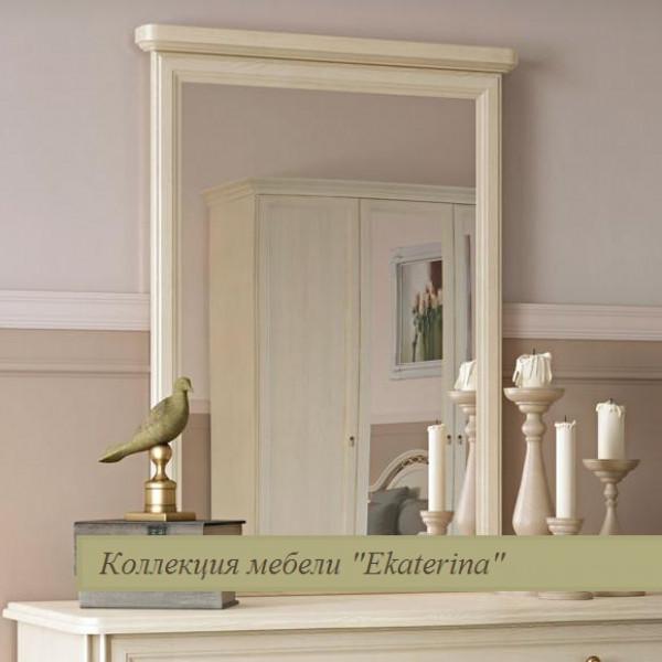 Зеркало в раме к комоду Ekaterina крем