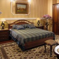 Кровать двойная 1600x2000, вариант №1 без ножной спинки