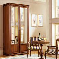 Шкаф 2-х дверный для платья и белья