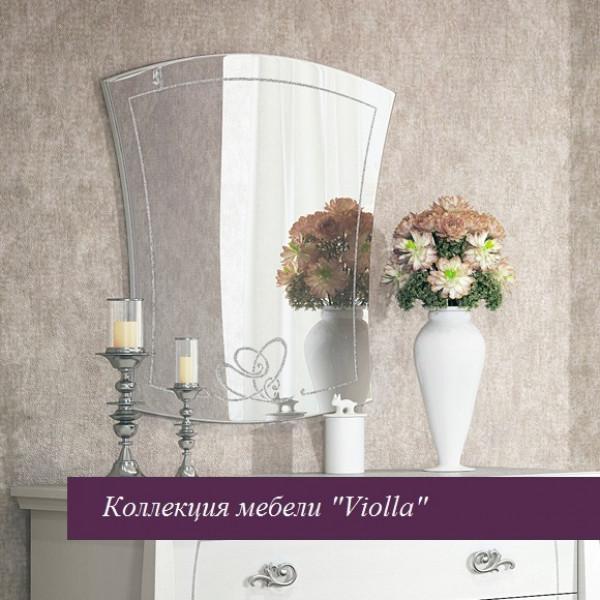 """Зеркало к комоду """"Viola"""" белая"""