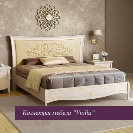 """Кровать """"Viola"""" беж 1800х2000 без ножной спинки"""