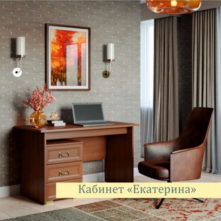 Стол письменный (Без тумбы) Екатерина орех ЕС5001