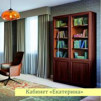 Шкаф для книг левый/правый Екатерина орех ЕВ2012