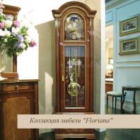 """Часы №1 орех  """"Floriana"""""""