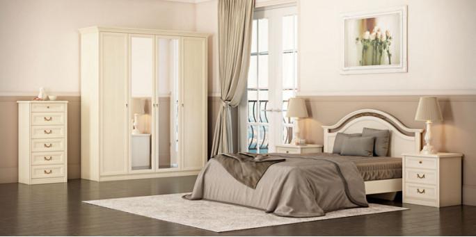 Мебель для спальни Ekaterina крем