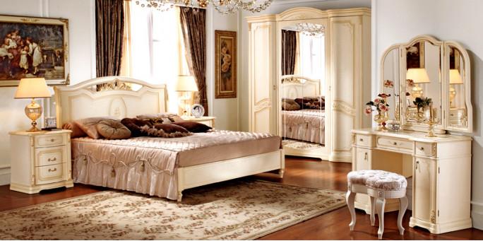Мебель для спальни — Floriana беж