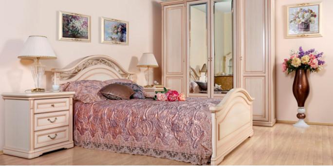 Мебель для спальни Joconda крем