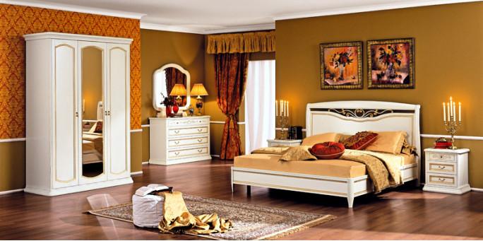 Спальня Luigi белая