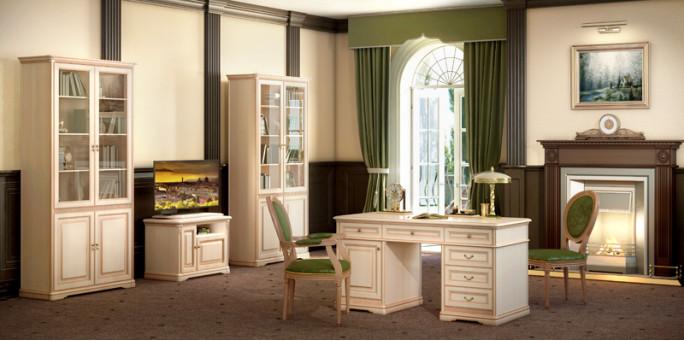 Мебель для кабинетов Joconda крем